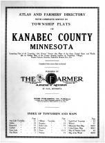Title Page, Kanabec County 1915
